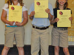 St. Edward Catholic School Awards - 2013
