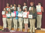 2017 HCMS 6th Grade School Awards