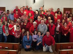 Church Wear Red Day