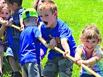 Northside and Southside Elementary Schools Field Day, 2016