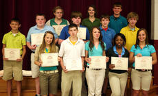 """<div class=""""source""""></div><div class=""""image-desc"""">8th perfect attendance. Eighth grade students receiving perfect attendance awards were, front row, from left, Alycia Schaum, Brandon Morris, Kayla Jones, Dee Wilson, Olivia Gasser; second row, Logan Wiley, Jared Wiley, Conner England, Isaac Dailey, Wylie Caudill; third row, Sabrina Traylor, Casey Newcomb, Alex Kinsey.</div><div class=""""buy-pic""""></div>"""