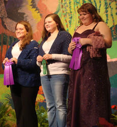 """<div class=""""source""""></div><div class=""""image-desc"""">Katie Sowder, Nelah Marsh, and Brooke Darnell receive awards for their projects.</div><div class=""""buy-pic""""></div>"""
