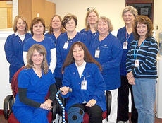 "<div class=""source""></div><div class=""image-desc"">March 1 was Colon Cancer Awareness Day. Some of the staff at the Wedco District Health Department wore blue as part of the awareness. Staff members who donned blue are: Andres Witte, Reni Conrad, Carol Carson, Kathleen Tucker, Diana White, Debbie Bradford, Rachael Ruano, Cathy Brunker, Lenora Kinney and Judy Mosley.</div><div class=""buy-pic""></div>"