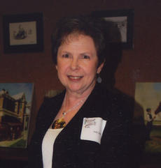 """<div class=""""source""""></div><div class=""""image-desc"""">Fifty year member Judy Judy was honored Monday, April 30 by Beta Sigma Phi Sorority a the Founder's Day/Honors Night Banquet. Preceptor Omega Chapter officiated the Golden Circle Ritual for Judy. A power point presentation was made by Barbara Snopek and Lisa Feeback depicting Judy's 50 years. A Golden Circle pin, certificate, Beta Sigma Phi plate and yellow roses were presented to Judy for her years of dedication to sorority. Judy is a member of Preceptor Omega Chapter of Beta Sigma Phi.</div><div class=""""buy-pic""""></div>"""