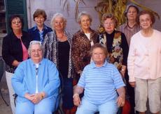 """<div class=""""source""""></div><div class=""""image-desc"""">Members of the Sunrise Homemakers are, front row, from left, Gayle Marsh, Betty King; back row, Shirley Moss, Rachel Mastin, Rita Rankin, Joyce Clifford, Ruby Neal, Kathy Malone, Margie Rainey. Absent were Doris Fryman, Marian McNees, Donal Van Hook.</div><div class=""""buy-pic""""></div>"""