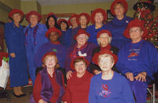 """<div class=""""source""""></div><div class=""""image-desc"""">Members of the Wildcats in Red Hats are, front row, from left, Sue Hobbs, Kathy Brooks, Betty Stoner; second row, Marian Crawford, Nancy Moore, Louise Richardson, Ruth Ann Perraut; third row, Wanda Gaunce, Wanda Jones, Judy Pierce, Diane Kinney, Charlotte Singer, Linda Wright, Connie Goodwin, Patty Dunn. Absent was Brenda Arnold.</div><div class=""""buy-pic""""></div>"""