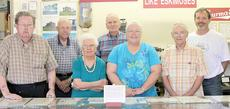 """<div class=""""source"""">Ben Hyatt</div><div class=""""image-desc"""">Museum volunteers are, from left, Bob Grable, Gladys Wells, Mary Grable, Kenny Simpson, JT Penn, Randall Boyers and Jeff Kinney.</div><div class=""""buy-pic""""><a href=""""/photo_select/23843"""">Buy this photo</a></div>"""