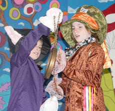 """<div class=""""source""""></div><div class=""""image-desc"""">Alice in Wonderland. A group of Northside Elementary students will bring their production of Alice In Wonderland to audiences May 17-18. Northside will kick-off the performances on Thursday, May 17, with a 6:30 p.m. showing at Northside Elementary cafeteria. Admission for the Thursday showing is $2. Friday, May 18, the cast will once again bring the production to life with a 6 p.m. showing, with a meal to be provided to all attendants. Admission for the Friday show will be $7.</div><div class=""""buy-pic""""><a href=""""/photo_select/18533"""">Buy this photo</a></div>"""