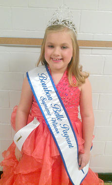 """<div class=""""source""""></div><div class=""""image-desc"""">Alexis Wright won a Supreme Title, Most Photgenic, and Prettiest Hair at The Bourbon Belle Pageant. Alexis is an 8-year-old student at Westside Elementary and is the daughter of Phillip and Stephanie Wright of Cynthiana.</div><div class=""""buy-pic""""></div>"""
