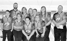 """<div class=""""source""""></div><div class=""""image-desc"""">The Harrison County High School Bowling team traveled in Erlanger to bowl in a bakers tournament. The girls came out strong to place second place. Bowlers who participated are: front row, from left, Josie Vaughn, Shaylee Carter, Alexys Switzer, Andra Gaunce; back row, Jessica Wilson, Shelbi Morris, Brooklyn Fryman, Shelby Roberts. Coaches Dennis Hyatt and Frazier Fryman.</div><div class=""""buy-pic""""></div>"""