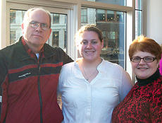 """<div class=""""source""""></div><div class=""""image-desc"""">Senior HCHS Trumpeter Lucinda Boyers poses with her parents, LouAnn and Byron, at the Kentucky Center for the Arts after the All-State Concert on Feb. 11. This was Lucinda's third year as a member of the KMEA All-State Bands and was a soloist on the concert, which was conducted by Scott Wiess of South Carolina.</div><div class=""""buy-pic""""></div>"""