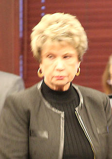"""<div class=""""source""""></div><div class=""""image-desc"""">Kay Brown appeared in Harrison Circuit Court Tuesday.</div><div class=""""buy-pic""""><a href=""""/photo_select/21228"""">Buy this photo</a></div>"""