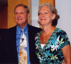 "<div class=""source""></div><div class=""image-desc"">Ross Clay Pepper III and his wife, Mary, were recently honored at a banquet at First Christian Church in Kissimmee, Fla. On May 22, Ross preached his last sermon at First Christian church after serving as their senior minister for 30 years.</div><div class=""buy-pic""><a href=""/photo_select/14576"">Buy this photo</a></div>"