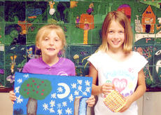 "<div class=""source""></div><div class=""image-desc"">Danielle Kinney and Rachel Clifford recently donated money that they raised by selling art work and pot holders to the UK Children's Hospital. Clifford was responsible for raising $270 and Kinney was able to raise $265. Kinney is the daughter of Chris and Christy Kinney. Clifford is the daughter of Scott and Dustin Clifford.</div><div class=""buy-pic""><a href=""/photo_select/14971"">Buy this photo</a></div>"