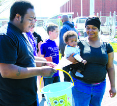 """<div class=""""source"""">Josh Shepherd</div><div class=""""image-desc"""">The gorgeous day saw numerous youngsters participating in the annual Frankie Taylor Memorial Easter egg hunt held Saturday, April 19 at Ingles Stadium on the Hilltop. The event is sponsored by the family of the late Frankie Taylor, the Rev. Ross Committee, and NorthEast and SouthWest Family Resource Centers. Several hundred children surrounded the football field to participate.</div><div class=""""buy-pic""""><a href=""""/photo_select/27196"""">Buy this photo</a></div>"""