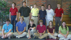 "<div class=""source"">Robin Smiley</div><div class=""image-desc"">The Harrison County Middle School eighth grade Gold team winners for the first nine-weeks are, front row, from left, Jacob Sanders, Timmy Lail, Drew Dorsey, Jared Thomas, Meghan Clem, Shelby May; back row, Christopher Mashburn, Sidney Munoz, Konor McKahan, Brett Bowen, Cassidy Menard, Ross Smith.</div><div class=""buy-pic""><a href=""/photo_select/16479"">Buy this photo</a></div>"