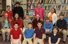 """<div class=""""source"""">Robin Smiley</div><div class=""""image-desc"""">The Maroon Reading Counts top readers for the second nine weeks were: front row, from left, Gage Bailey, Trevour Barker, Kyle Barnes, Sierra Boisseau; second row, Sophia Hatterick, Jima Hill, Rocky Kearns, Madison Kellione, Keith Kinney, Forest Linville; third row, Isaac Pelkey, Isaac Sims, Jamie Thompson, Thomas Thompson, Jessica Torres.</div><div class=""""buy-pic""""><a href=""""/photo_select/26090"""">Buy this photo</a></div>"""