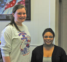 "<div class=""source"">Robin Smiley</div><div class=""image-desc"">The Harrison County High School students of the month of November were, from left, Nelah Marsh, sophomore, daughter of Les and Lynda Marsh and Whitney Gross, junior, daughter of Wilbur and Joy Gross.</div><div class=""buy-pic""><a href=""/photo_select/16851"">Buy this photo</a></div>"