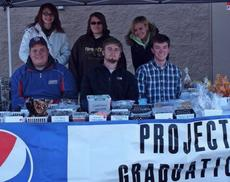 """<div class=""""source""""></div><div class=""""image-desc"""">Several students of Harrison County High School's Class of 2012 participated in a Project Grad bake sale held Oct. 29 at Walmart Supercenter in Cynthiana. Pictured are, from left, Joshua Lambert, Garrett Creech, Cory McCauley, Katelyn Wigglesworth, Elizabeth Banfield and Danni Kemplin. Students participating (not pictured) were Patrick Ford, Kelsey Cummins, Tracey Hicks, Anthony Shirley, Keith Northcutt, Xavier Carter, Brandon King, Walker Hill, Abby Besson, Taylor Moore, Katelin Martin, Sara Jenkins and Macy Gasser. The next Project Grad sale will be Saturday, Nov. 19 at Walmart in Cynthiana. The 2012 seniors would like to thank the community for its continued support of Project Grad.</div><div class=""""buy-pic""""></div>"""