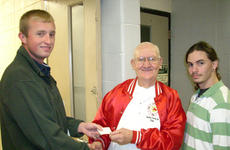 "<div class=""source""></div><div class=""image-desc"">Shawn Ravenscraft (SkillsUSA treasurer), left, Charlie Carson, center, and Luke Williams (SkillsUSA President), presented a check to Charlie Carson from the Coins for Tots Drive at the Harrison County ATC.The drive was sponsored by the SkillsUSA Chapter to help provide toys for the children of Harrison County.</div><div class=""buy-pic""></div>"