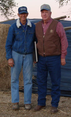 """<div class=""""source""""></div><div class=""""image-desc"""">Lowell Clifford received the Top Farm Hand award at the Harrison County Field Day on Monday, Oct. 8, at the farm of Mike and Shelley Meyer.  Pictured is Lowell Clifford receiving the award from Ronnie Franklin, Chairman of the Harrison County Ag Council.</div><div class=""""buy-pic""""></div>"""