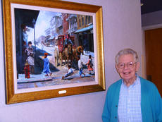"<div class=""source""></div><div class=""image-desc"">Harrison Memorial Hospital began a community arts program in 2010. Herby Allen Moore recently donated a painting called ""The Parade"" to HMH. The painting is located in the HMH Emergency Department waiting area. Part of the HMH art program features an Artist of the Month display and a Harrison County Student art display. The current artist of the month is Judy Spicer.</div><div class=""buy-pic""></div>"