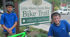 "<div class=""source""></div><div class=""image-desc"">Gregory Dick, left, and Henry DeRolf of Boy Scout Troop 76 completes their 50 mile bike ride on the Little Miami Trail as part of the Cycling Merit Badge.</div><div class=""buy-pic""></div>"