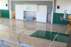 "<div class=""source"">Becky Barnes</div><div class=""image-desc"">WHAT'S OLD IS NEW AGAIN The new floor at City Hall, under the newly named Cynthiana-Harrison County Sports Center, is ready for action. An open house will be held Nov. 29, 6-8 p.m., at the gym to show off the new construction. Restrooms have been added at the floor level along with a scorers table. Participation forms will be in the schools after Thanksgiving break for boys and girls interested in playing in the recreation basketball league.</div><div class=""buy-pic""><a href=""/photo_select/21088"">Buy this photo</a></div>"