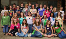 """<div class=""""source""""></div><div class=""""image-desc"""">newbery class. On Wednesday, April 27, for the 22nd year in a row, 28 students from Harrison County Middle School attended and participated  in a discussion of 10 books which were winners and contendors for the Newbery Award. This award is given annually for excellence in children's literature. The discussion was held with the masters level LIS 611 Critical Analysis of Children's Literature class at the University of Kentucky. The UK and Harrison County students read, analyzed, critiqued, and voted on the books chosen for the panel. HCMS students making the trip were: front row, from left, Leea Collard, Sara Ann Ledford, Kayla Olsen, Natalie Kinney, Macy Robles; second row, Carly Johnson, Danielle Dunaway, Olivia Eckert, Alexis Lanza, Rachel Eckert, Katie Stein, Andrea Hernandez, Anna Arthur; third row, Mackenzie Shepard, Haylie Pelkey, Havanna Gollihue, Candyce Worrell, Reagan Gorman, Ruthie Sparkman, Carolina Elliott; fourth row, Kevin Barnett, Jake Jones, Seth Hammons, Reese Asher, Nick Florence, Russ Faulconer, Elliot Rognstad, Ben Bowen.</div><div class=""""buy-pic""""></div>"""