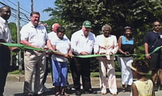 """<div class=""""source"""">Alice Allen</div><div class=""""image-desc"""">Participating in the ribbon cutting ceremony renaming Water Street to Louis Stout Way held June 22 were: from left, Stephen Stout (nephew of Louis Stout), Joe B. Hall, Janice Wilson, Donald Wagoner, Ann Stout, Sheryl Lyons King, Ruth Ann Gross, Mayor Steve Moses.</div><div class=""""buy-pic""""><a href=""""http://web2.lcni5.com/cgi-bin/c2newbuyphoto.cgi?pub=081&orig=ribbon.cutting-stout.jpg"""" target=""""_new"""">Buy this photo</a></div>"""