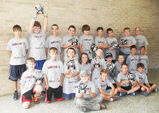 """<div class=""""source""""></div><div class=""""image-desc"""">This year Harrison County schools were given the opportunity to have a robotics camp by Georgetown College. Students in grades 4 and 5 participated in the camp. Twenty-four students attended camp to build and program a robot using Legos and Lego Mindstorm software. The students spent five days programming their robots to complete a variety of tasks that went along with the Summer Olympics, such as programming their robot to detect a line and follow the line as if they were runners in the Olympics. The camp concluded with a competition to see which robot could stay in the square the longest without being hit by another robot. Students who took part in the camp are: front row, from left, Dalton Pergram, Nathan Maynard, Wilson Duckworth, Daniel Wright; second row, Zachary Getting,Thomas Morris, Dylan Brown, Addison Moore, Colton Kendall, Michael Massey, Corey Wagoner, Tyler Hudgins, Evan Copes; back row, Boston Pergram, Brenton Giles, Layton Childress, James Dennis, Preston Weisgerber, Hunter Thomas, Jonah Case, Ben Merriman, Ruth Tutewiler.</div><div class=""""buy-pic""""></div>"""