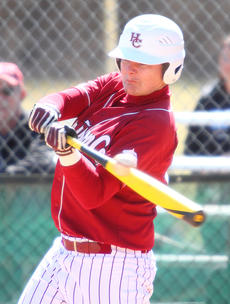"""<div class=""""source"""">Donald Richie</div><div class=""""image-desc"""">Conner Free gets contact from the left handed side of the plate last Saturday against Grant County.</div><div class=""""buy-pic""""></div>"""