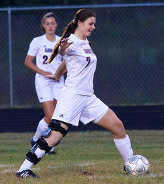 """<div class=""""source"""">Donald Richie</div><div class=""""image-desc"""">Marly Jenkins gets the first kick in the Fillies' senior night game last Wednesday at the Harrison County Athletic Complex.</div><div class=""""buy-pic""""></div>"""