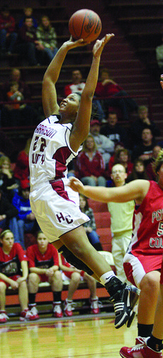 """<div class=""""source"""">courtesy of Donald Richie/Richie's Photography</div><div class=""""image-desc"""">Fillies senior Sherese Doram outruns the Lady Cats' defense last Friday on the Hilltop. The Fillies grabbed a 59-55 win in overtime in the opening game of homecoming.</div><div class=""""buy-pic""""><a href=""""http://web2.lcni5.com/cgi-bin/c2newbuyphoto.cgi?pub=081&orig=s-sherese-doram_7050.jpg"""" target=""""_new"""">Buy this photo</a></div>"""