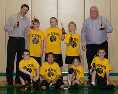 "<div class=""source""></div><div class=""image-desc"">The Suns third and fourth grade basketball team took runners up in the recreation department championship tournament last week at City Hall. The 2013 team was, front row, from left, Calvin Bartels, Brentton White, Riley Moses, Mason Hedges; back row, coach Dr. Stephen Moses, Ryley Dahmer, Jerry Ingram, Kara Hines, coach Steve Moses. Absent were Ian Boland and Addison Peak.</div><div class=""buy-pic""></div>"