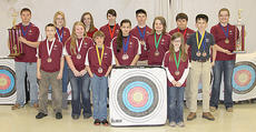 """<div class=""""source"""">Becky Barnes</div><div class=""""image-desc"""">Harrison County students who earned individual awards at the Region 8 NASP/KHSAA tournament on March 2 are: front row, from left, Kennedy Sumpter, Amber Kern; second row, Gunner Bryan, Macie Clough, Macy Robles, Whitney Lizer, Austin Snapp; back row, Kyle Yearsley, Autumn Gray, Hunter Griffith, Samantha McCall, Dalton Moore, Steven Oaks and Kaitlin Farthing.</div><div class=""""buy-pic""""><a href=""""/photo_select/22297"""">Buy this photo</a></div>"""
