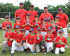 """<div class=""""source""""></div><div class=""""image-desc"""">T-ball team was tournament champions and second in the league at River Road Park. Team members are: front row, from  left: John Michale Furnish, Boston Reynolds, Max Hombrig, Sawyer Cracraft, Camden Bowlin, Molly Hombrig, Lexi Hill; second row, Lawson Hunt, Trey Bramel, Alex Hensley, Hank Krift, Riley Grob, Ryleigh Hombrig, Lance Phillips, Issac Ross Blackburn; assistant coaches, Chris Cracraft, Rob Krift, Michael Furnish, Head Coach: Petey Reynolds; absent from photo: Weston Hill and assistant coach Nick Hill.</div><div class=""""buy-pic""""></div>"""