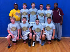 "<div class=""source""></div><div class=""image-desc"">The team consists of students from Harrison County Middle School: front row, from left, Daniel Faulconer, Tyler Reynolds, Ethan Preston, Quenton Turley; back row, Coach Chris Turley, Tyler Linville, Spencer Free, Blake Price, Thomas Thompson and Coach Christopher Turley.</div><div class=""buy-pic""></div>"