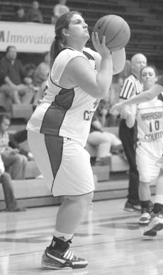 """<div class=""""source"""">courtesy Donald Richie/Richie Photography</div><div class=""""image-desc"""">Senior Katelin Shepherd puts up a shot last Saturday when the Fillies played host to the Lady Royals of Mason County.</div><div class=""""buy-pic""""><a href=""""/photo_select/11608"""">Buy this photo</a></div>"""
