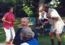"""<div class=""""source""""></div><div class=""""image-desc"""">At left, Cheryl Annis and James Thorpe danced to music provided by The Licking Valley Singers.</div><div class=""""buy-pic""""></div>"""