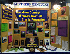 """<div class=""""source""""></div><div class=""""image-desc"""">Brooke Darnell was chosen as the northern Kentucky region star farmer, representing her county and region with a display board at the state fair.</div><div class=""""buy-pic""""></div>"""