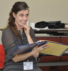 """<div class=""""source""""></div><div class=""""image-desc"""">Lauren Argo, native of Cynthiana, taught """"Words in Dramatic Literature"""" on Saturday, Sept. 29, for the LVC 4th Annual Writers Conference.</div><div class=""""buy-pic""""></div>"""