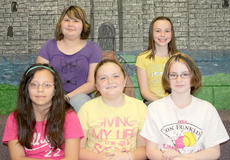 "<div class=""source""></div><div class=""image-desc"">NORTHSIDE INTERMEDIATE. Northside Elementary's Intermediate participants in the Battle of the Books were: front row, from left, Jaydy Torres, Bailey Northcutt, Miracle Switzer; back row, Gracie Turner, Sierra Eckler. Absent was CJ Maryea.</div><div class=""buy-pic""><a href=""/photo_select/17991"">Buy this photo</a></div>"