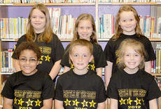 "<div class=""source""></div><div class=""image-desc"">SOUTHSIDE PRIMARY. Southside Elementary's Primary participants in the Battle of the Books were: front row, from left, Cameron Jones, Trent Fry, Jimmie Leigh McIlvain; back row, Cassidi Snapp, Dylan Ecklar, Morgynne Lunsford.</div><div class=""buy-pic""><a href=""/photo_select/17994"">Buy this photo</a></div>"