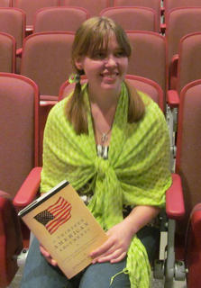 Valerie Chesnut received the Yamuth Book award.
