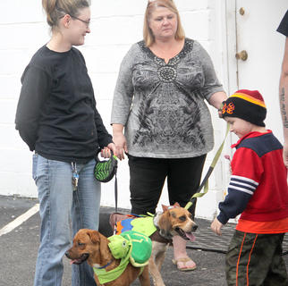 The Cynthiana-Harrison County Humane Society hosted the annual Spooky BooWow parade and costume contest for all the canines that could make their way to ARToberFest.
