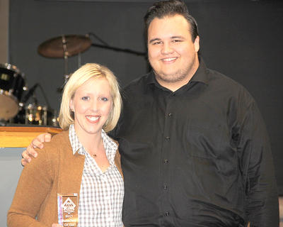 Mary Todd Seaman was Business Person of the Year. She was nominated by Josh Jenkins.