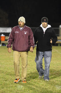 Coach Nick Hill and Assistant Coach Petey Reynolds