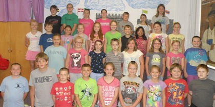 Recognized on the A/B Honor Roll were: front row, from left, Laci Davis, Will Furnish, Kenny Griffieth, Lucas Herrington, Daelyn Morrison, Cameron Perry, Kaley Robinson, Christopher Stump, Wyatt Williamson; second row, Cheyenne Marshall, Kaydee Mineer, Riley Moses, Joshua Myers, Katelynn Nichols, Olivia Tucker, Ella Cash, Blaykelyn Northcutt; third row, Cindy Barker, James Bills, Alexis Perkins, Emily Bradford, Kenley Tumey, Brooke Dunaway, Tanner Eckler, Tomas Gutierrez, Haylee Grissom, Megann Haynes; fourth row, Landon Bowlin, Mercadees Chambers, Rachel Clifford, Abbi Maryea, Aaron Pickett, Hope Stiltner, Athena Collins.