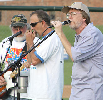 The Blue Collar Rebel Band performed throughout the night.